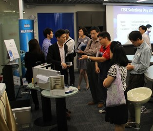 HKC's Showcase in ITSC Solutions Day