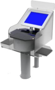 self check in/out station
