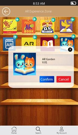 LIBRA 4.0 AR体验APP (示范图)